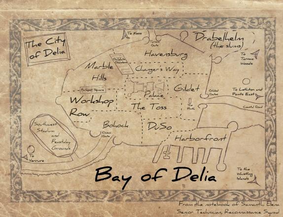 Delia Map done